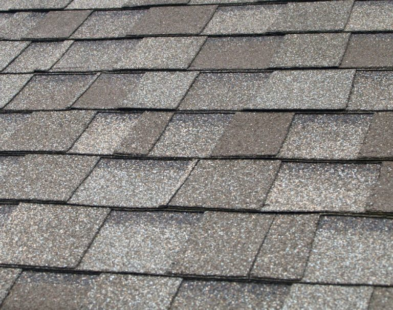 Close up image of composite roofing in Honolulu, Hawaii.